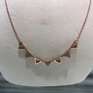 Jewelry - Rose Gold Diamond Necklace
